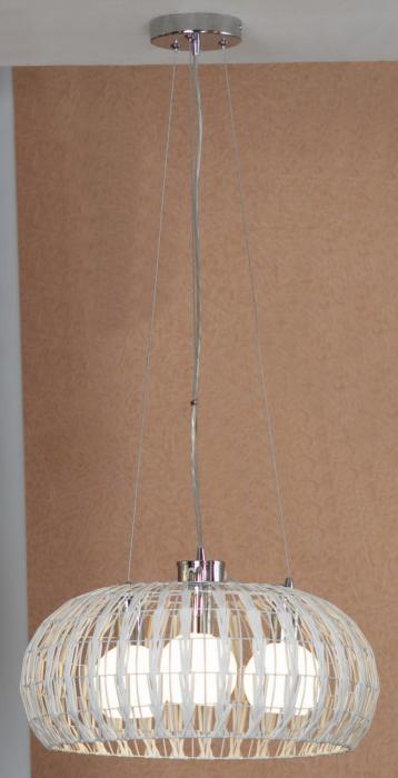Подвесной светильник Lussole LSX-4103-03, серый металлик