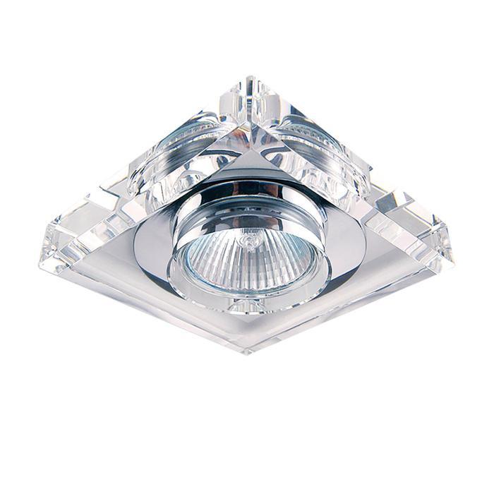 цены Встраиваемый светильник Lightstar 002050, GU5.3, 50 Вт
