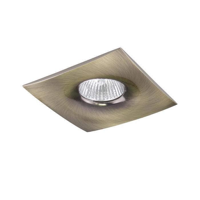 Встраиваемый светильник Lightstar 010031, GU10, 50 Вт lightstar встраиваемый светильник lightstar levigo q 010031