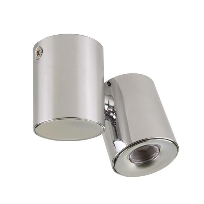 Встраиваемый светильник Lightstar 051124, серый металлик светильник на штанге punto 051124