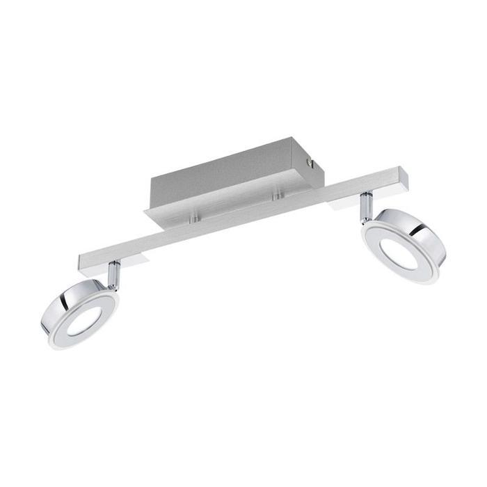 Настенно-потолочный светильник Eglo 95997, серый металлик настенно потолочный светильник eglo 95633 серый металлик