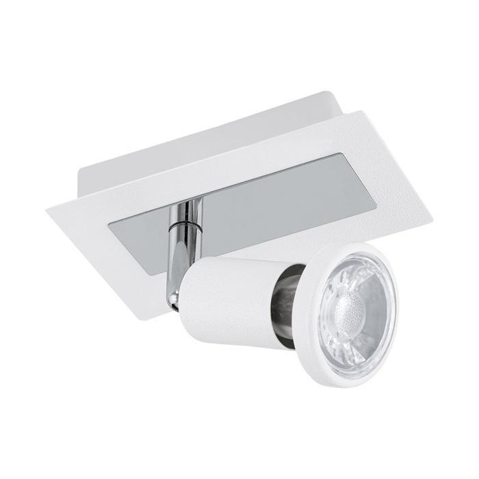 Настенно-потолочный светильник Eglo 94958, серый металлик светильник спот eglo dakar 87082