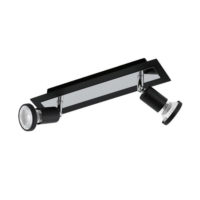Настенно-потолочный светильник Eglo 94964, серый металлик светильник спот eglo dakar 87082