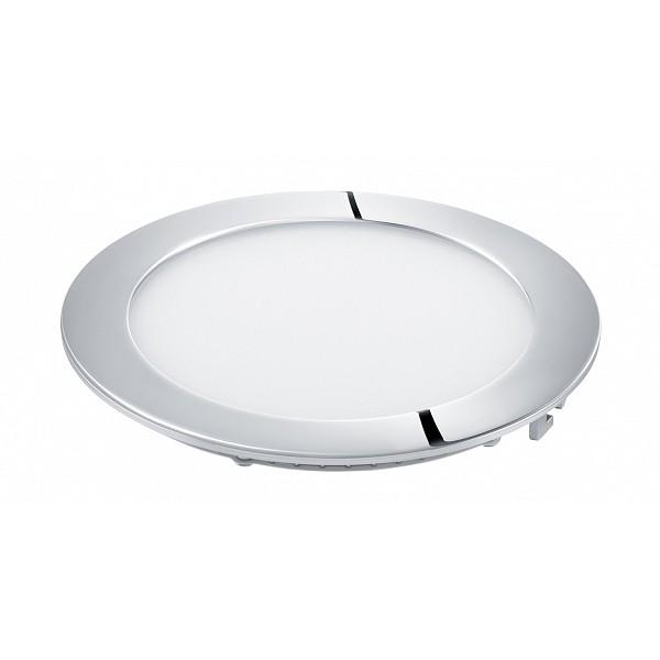 Встраиваемый светильник Eglo 96245, серый металлик96245Встраиваемый светильник с одной лампой Eglo 96245 серии Fueva 1 chrome в современном стиле оживит ваш интерьер. Размеры (Диаметр х Высота) 170х0 мм.
