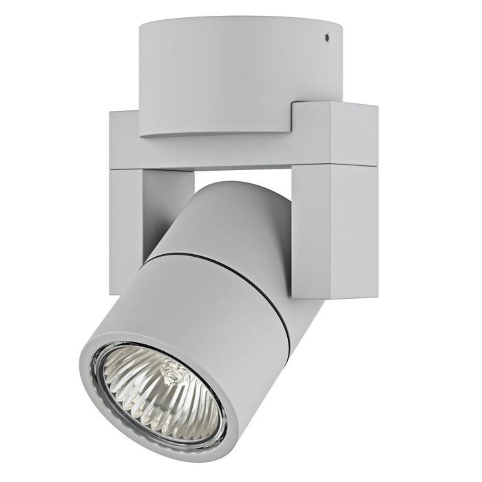 Настенно-потолочный светильник Lightstar 051040, серый цены