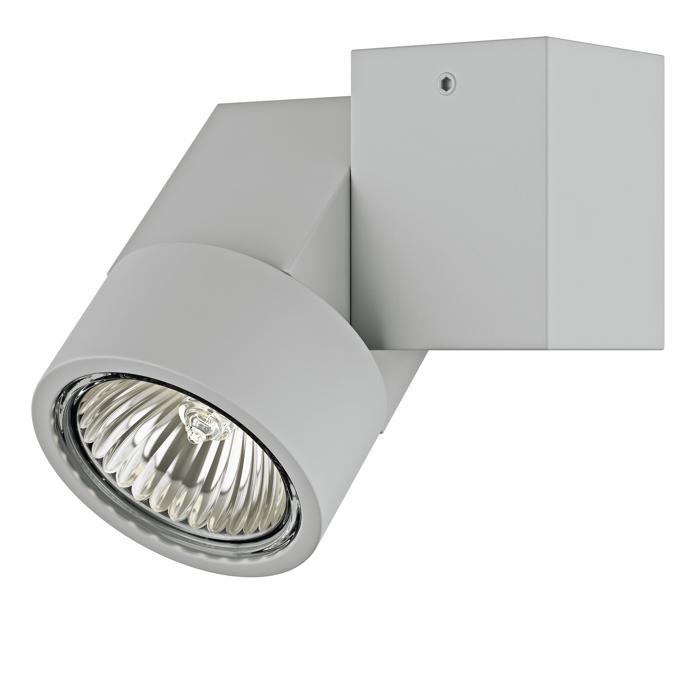 Настенно-потолочный светильник Lightstar 051020, серый цены