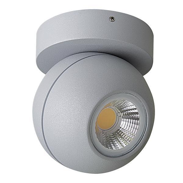 Настенно-потолочный светильник Lightstar 051009, серебристый цены