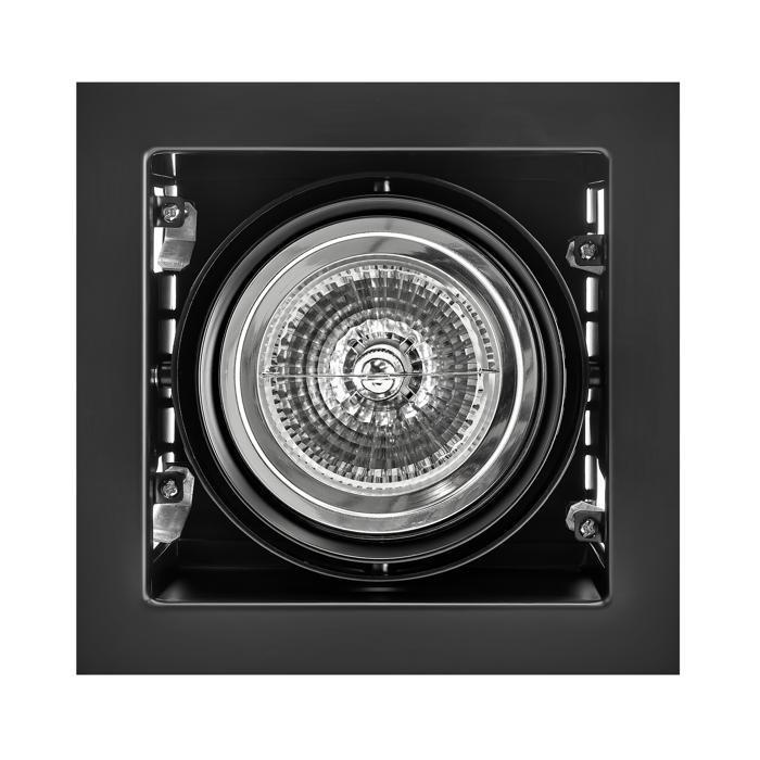 Встраиваемый светильник Lightstar 214118, черный встраиваемый спот точечный светильник lightstar cardano 16 x1 bianco 214010