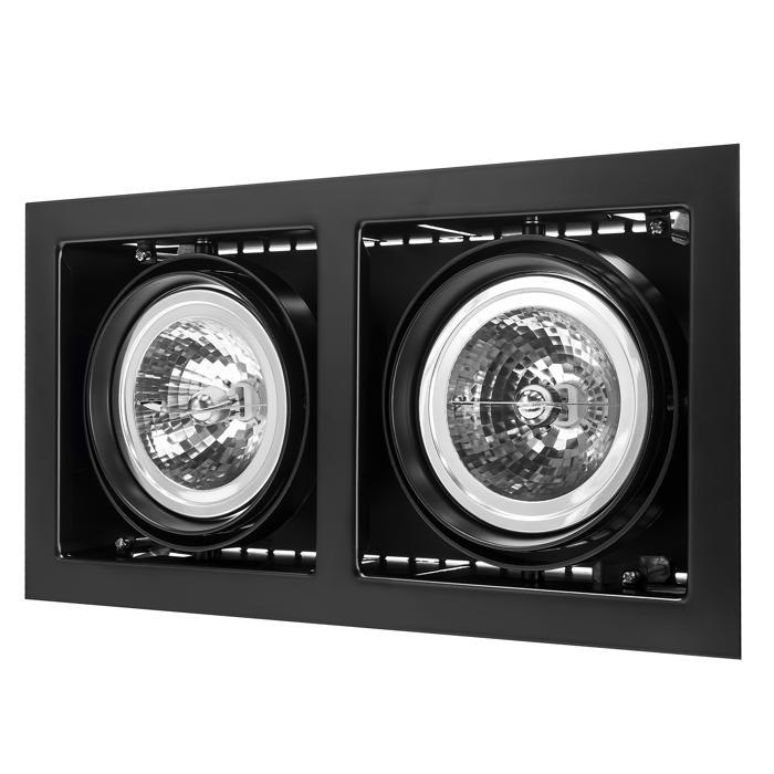 Встраиваемый светильник Lightstar 214128, черный встраиваемый спот точечный светильник lightstar cardano 16 x1 bianco 214010