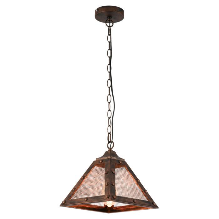 Подвесной светильник Lussole LSP-9836, коричневый цена