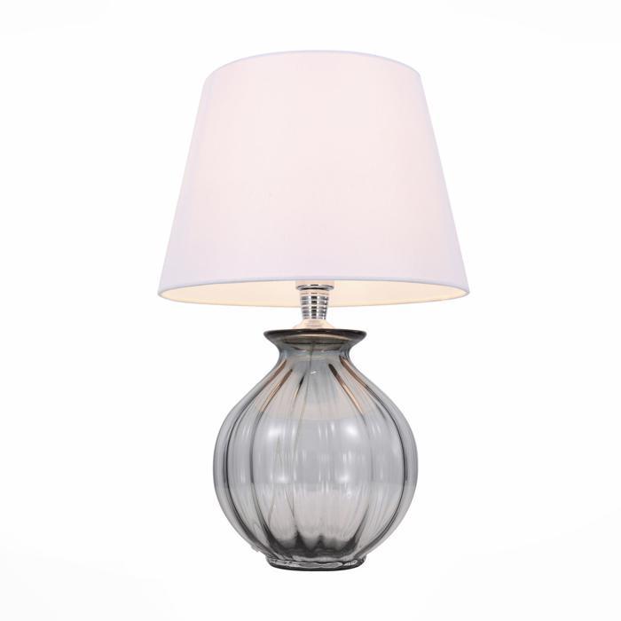 Настольный светильник St Luce SL968.404.01, серый лампа настольная декоративная st luce calma sl968 604 01