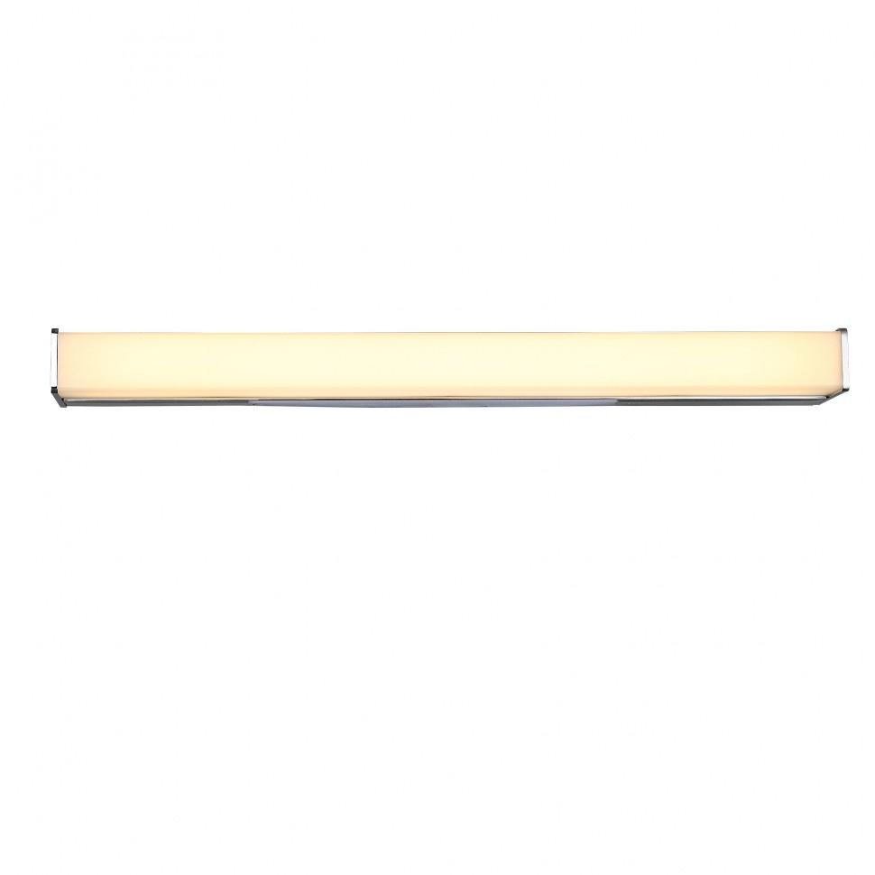 Настенный светильник St Luce SL442.111.01, серый металликSL442.111.01Настенный светильник St Luce SL442.111.01 серии Brevi в стиле хай-тек создаст в помещении атмосферу комфорта. Размеры (ДхШхВ) 6100х0х50 мм.