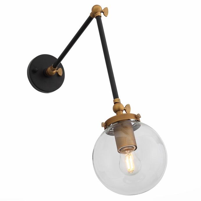 Настенно-потолочный светильник St Luce SL234.421.01, черный подвесной светильник st luce varieta sl234 403 01