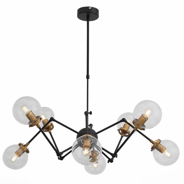 Подвесной светильник St Luce SL234.402.08, черный подвесной светильник st luce varieta sl234 403 01