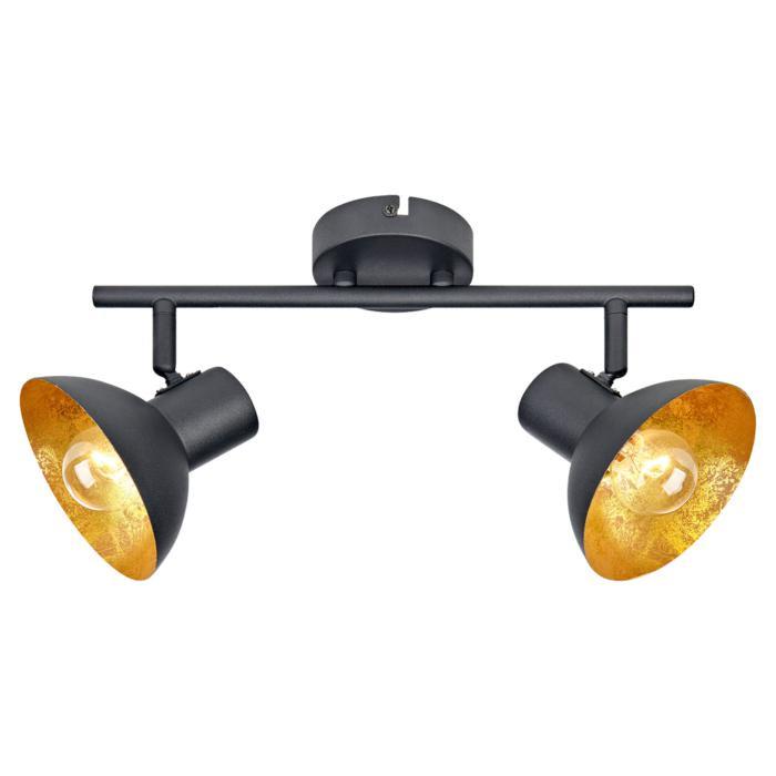 Настенно-потолочный светильник Lussole LSP-9974, черный цена и фото