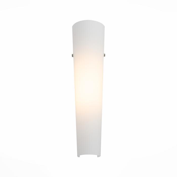 Настенный светильник St Luce SL508.501.01, белыйSL508.501.01Настенный светильник St Luce SL508.501.01 серии Snello в стиле хай-тек создаст в помещении атмосферу комфорта.