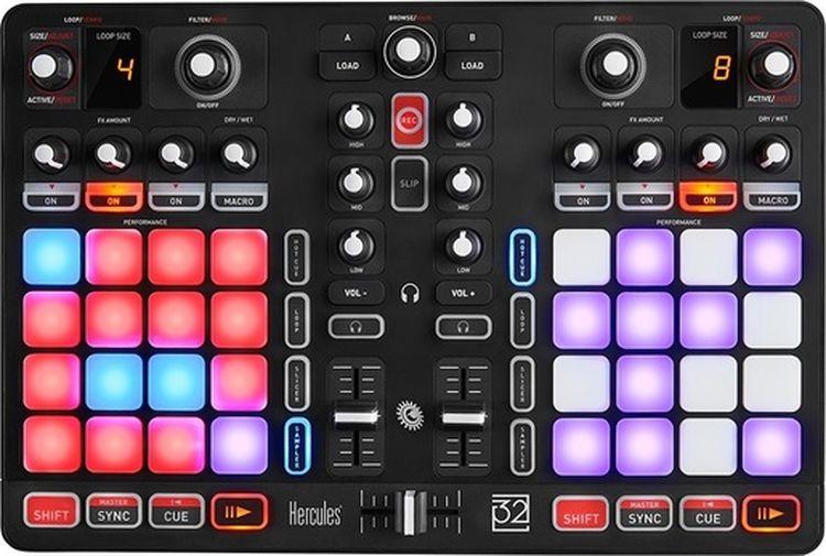 Hercules P32 DJ микшерный пульт