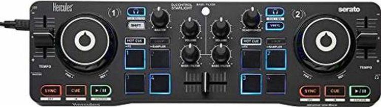 DJ-контроллер Hercules DJ Control Starlight, черный цена