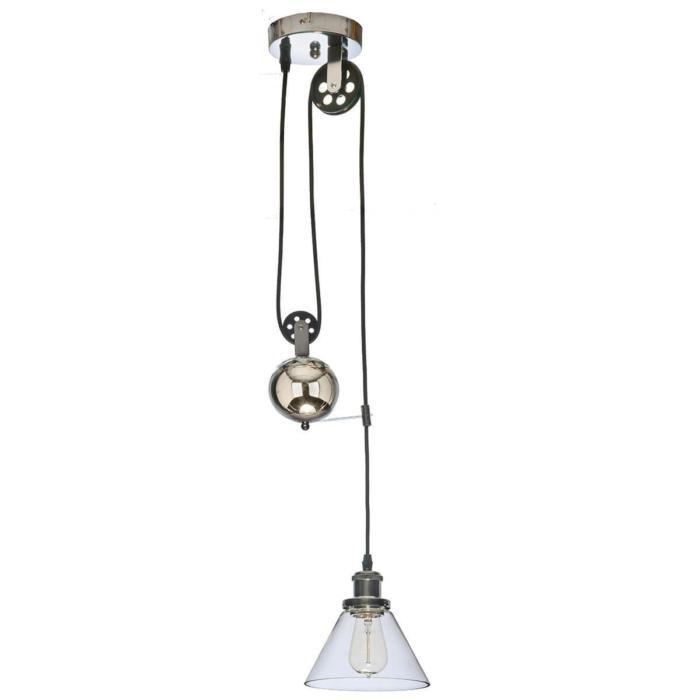 Подвесной светильник Vele Luce VL1183P01, серый металликVL1183P01Подвесной светильник Vele Luce VL1183P01 серии Ninfea в стиле лофт будет хорошим решением для квартиры. Размеры (Диаметр х Высота) 180х180 мм.