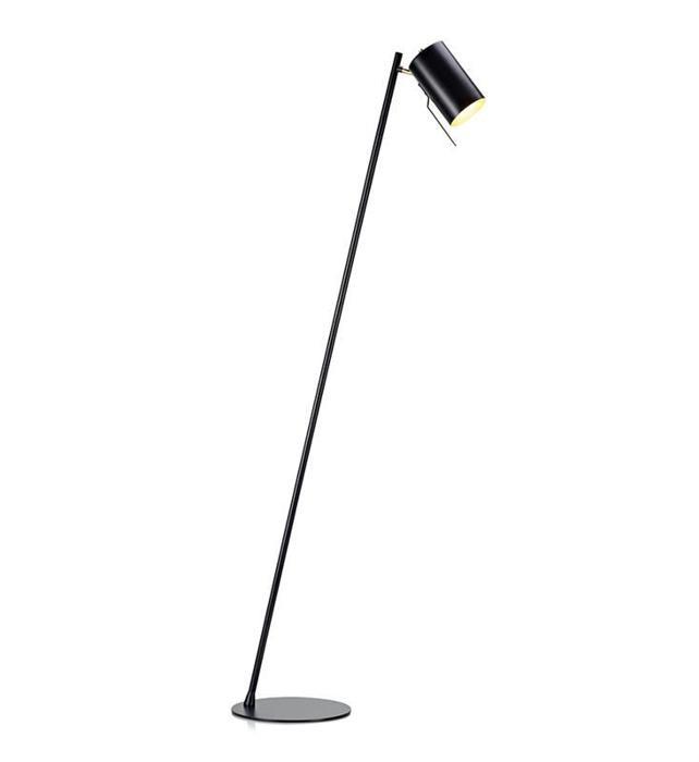 Напольный светильник Markslojd 106879, черный напольный светильник markslojd 106972 золотой