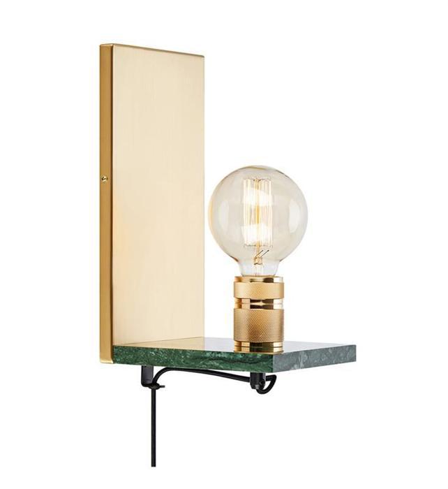 Настенный светильник Markslojd 107222, золотой напольный светильник markslojd 106972 золотой