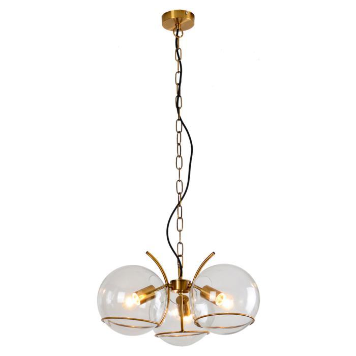 Подвесной светильник Lussole LSP-9556, бронза цена