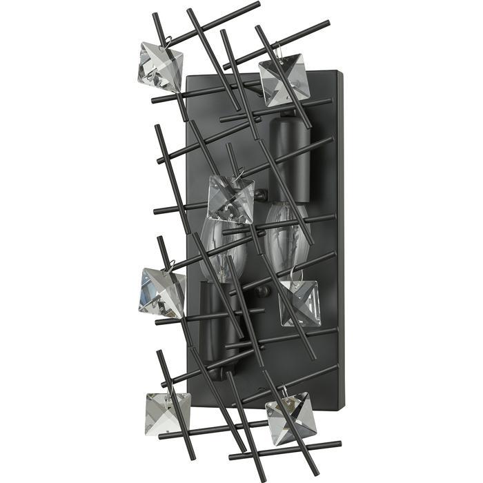 Бра Vele Luce VL1532W02, черныйVL1532W02Бра с двумя плафонами Vele Luce VL1532W02 серии Assoluto в современном стиле даст комфортный свет в комнате. Размеры (ДхШхВ) 130х0х340 мм.
