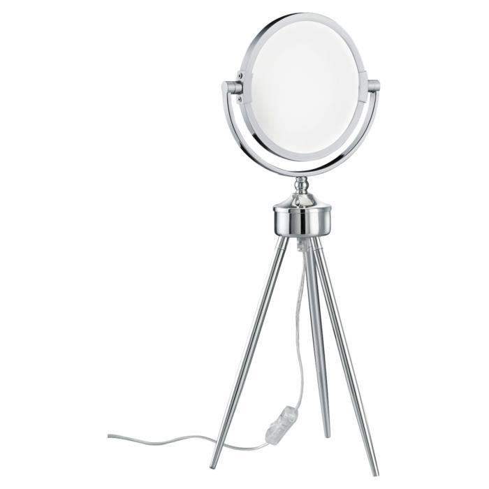 Настольный светильник Lussole LSP-9572, серый металлик настольный светильник lussole lsp 0548