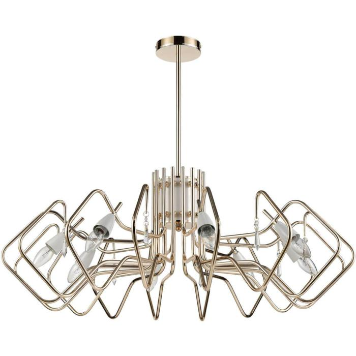 цена на Подвесной светильник Vele Luce VL1744L08, золотой