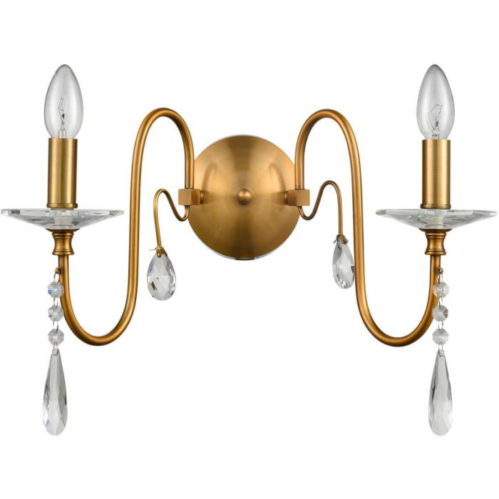 Бра Vele Luce VL1794W02, бронза бра vele luce center vl1212w02