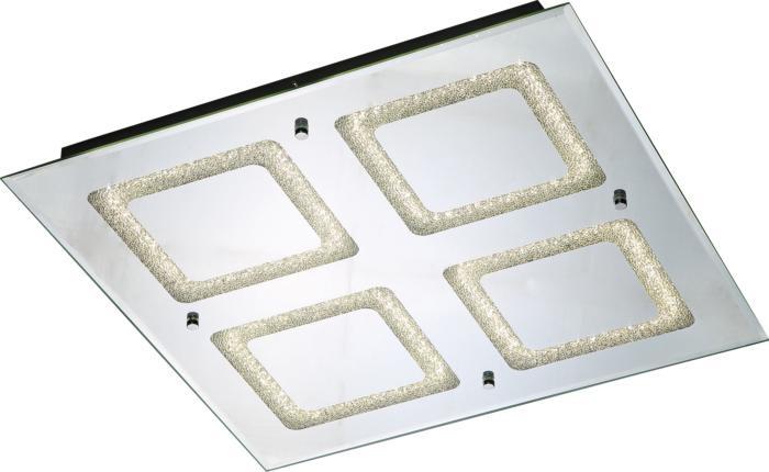 Потолочный светильник Globo New 49229-24, серый металлик потолочный светодиодный светильник globo cyris 49229 6