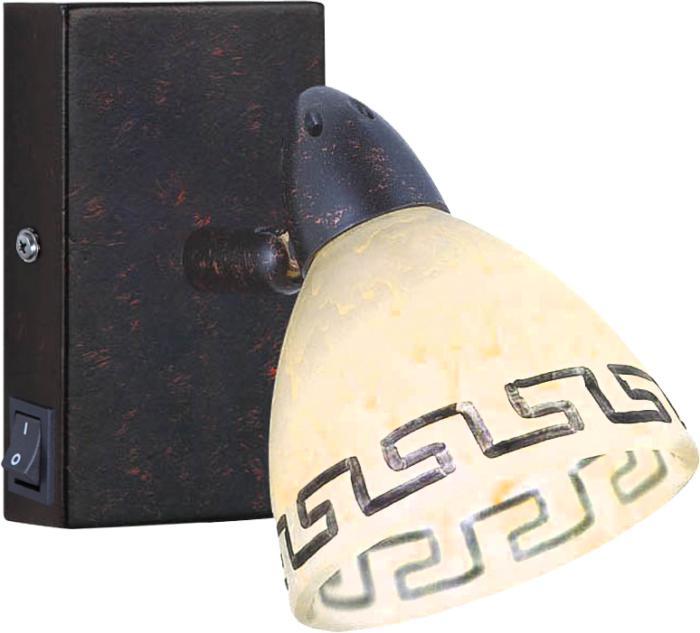 Настенно-потолочный светильник Globo New 5684-1, коричневый спот globo 5684 2