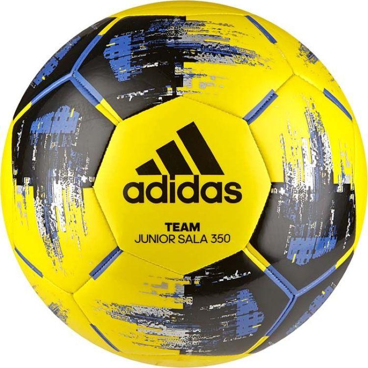 Мяч футбольный Adidas Team JS350, желтый, размер 4