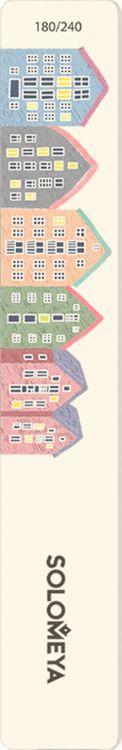 Маникюрная пилка Solomeya Таллин, 180/240 грит tnl пилка 25 18 широкая 240 240 серая