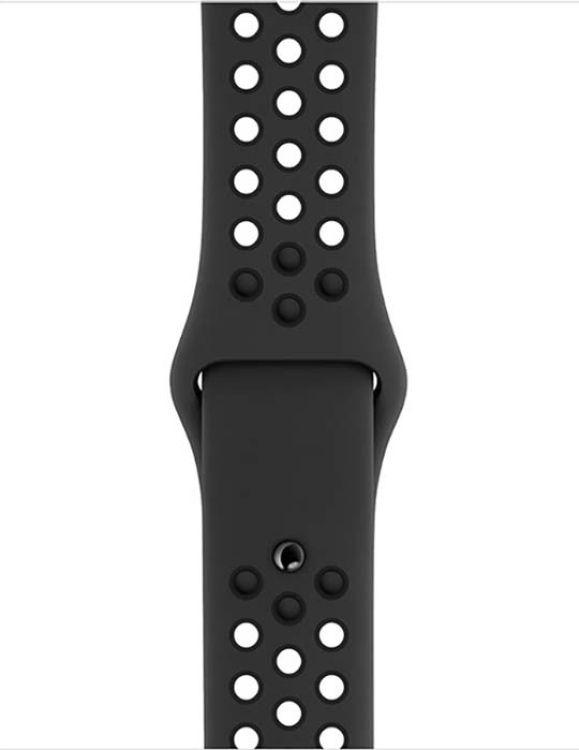 Ремешок для смарт-часов Devia Deluxe Sport 2 для Apple Watch 4 40 мм, черный ремешок для смарт часов devia deluxe sport 3 для apple watch 4 40 мм черный