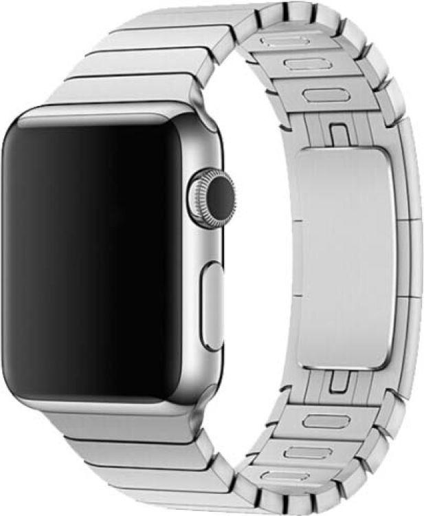 Ремешок для смарт-часов Devia Elegant Link Bracelet для Apple Watch 4 44 мм, серебристый чехол для смарт часов interstep спортивный для apple watch 40mm серебристый