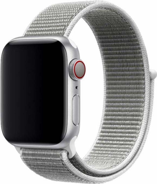 Ремешок для смарт-часов Devia Deluxe Sport 3 для Apple Watch 4 40 мм, светло-серый ремешок для смарт часов devia deluxe sport 3 для apple watch 4 40 мм черный