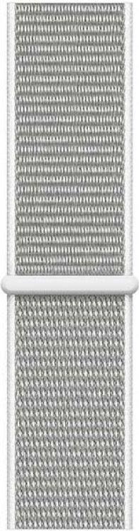 Ремешок для смарт-часов Devia Deluxe Sport 3 для Apple Watch 4 44 мм, светло-серый ремешок для смарт часов devia deluxe sport 3 для apple watch 4 40 мм черный