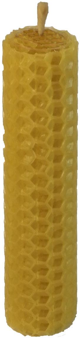 Свеча декоративная Мир свечей Соты, из пчелиного воска, 35-41, светло-коричневый, 2 х 10 см свеча из воска