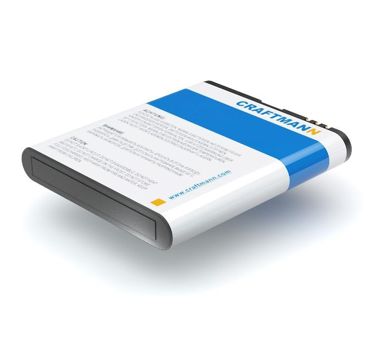 Аккумулятор для телефона Craftmann BL-6F для Nokia N95 8GB, N78, 6788