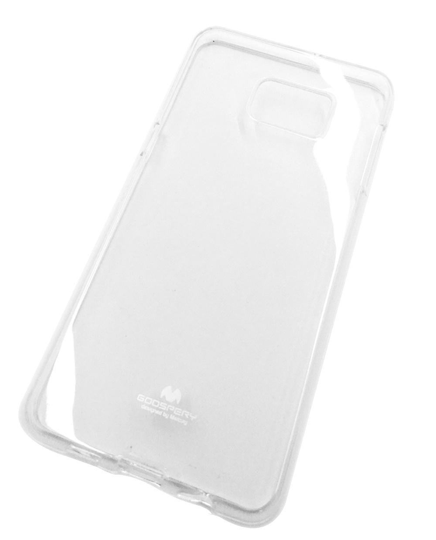 """Чехол для сотового телефона Goospery Samsung S6 Edge Plus Накладка """"Mercury"""" Jelly Case ламинированный силикон, прозрачный"""