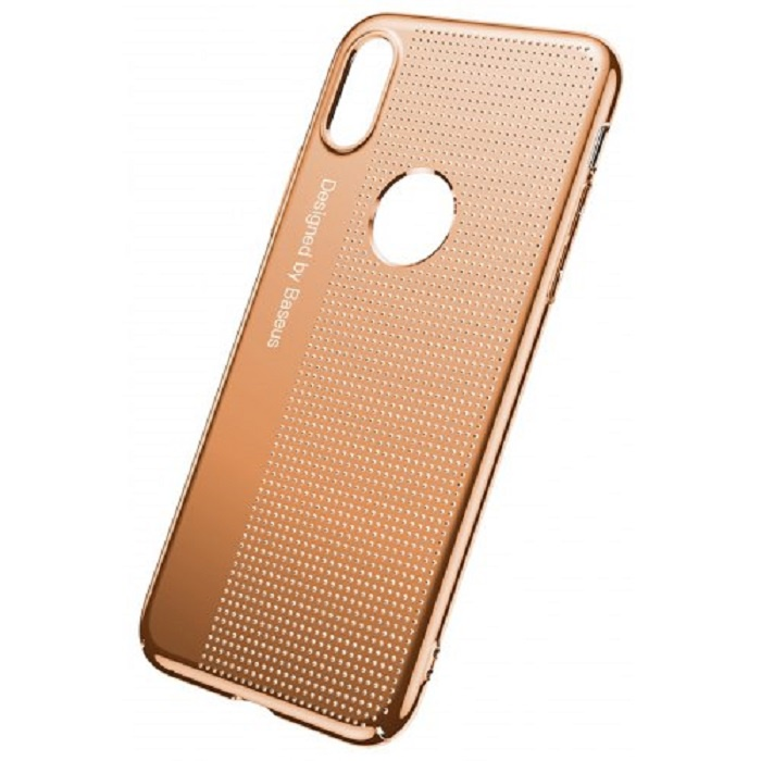лучшая цена Чехол для сотового телефона Baseus WIAPIPHX-MX17, золотой
