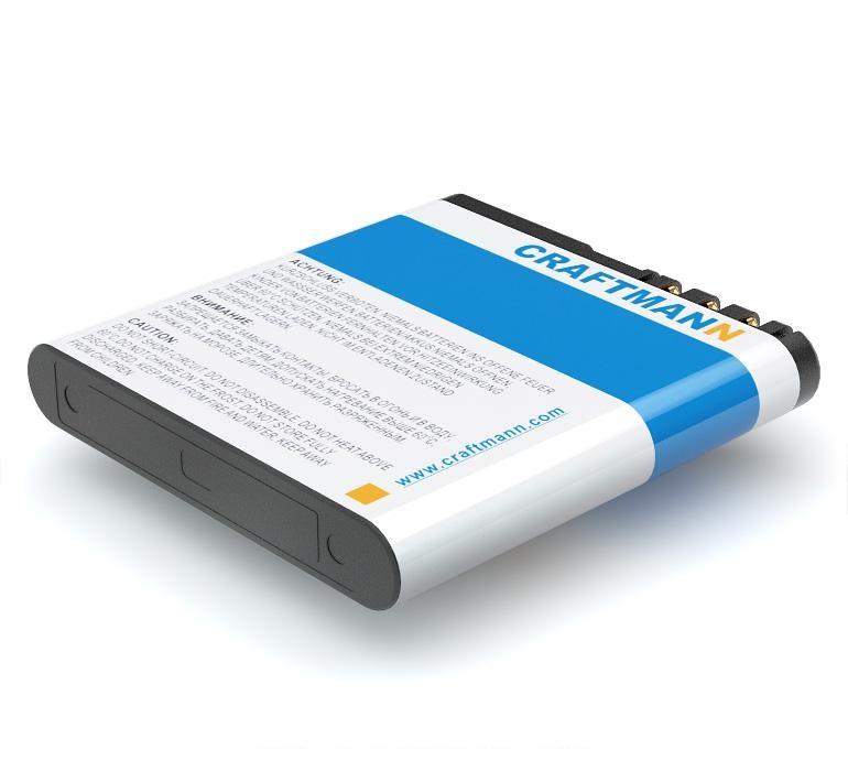 Аккумулятор BL-6Q для Nokia 6700 Classic, BELLPERRE Ultra Slim, Mobiado Classic 712EM, 712GCB, 712MG, 712 Stealth LE, 712ZAF
