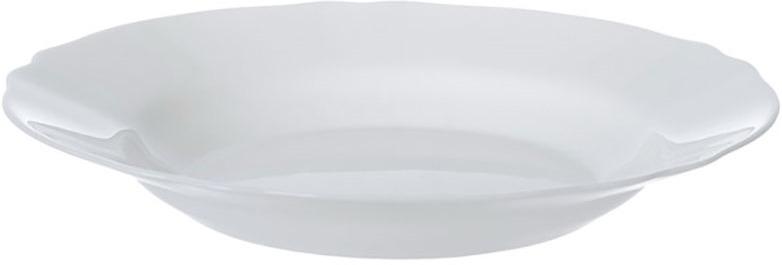 Тарелка глубокая Luminarc Луи Xv, J7337, белый, диаметр 23 см тарелка глубокая luminarc ализэ перл n4836 белый диаметр 23 см