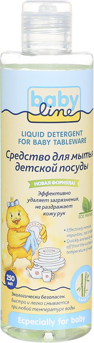 BabyLine Средство для мытья детской посуды 250 мл
