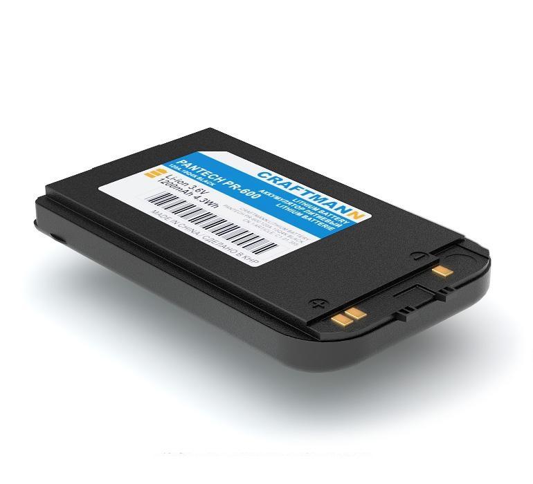 Аккумулятор для телефона Craftmann PBR600 для Pantech PR-600