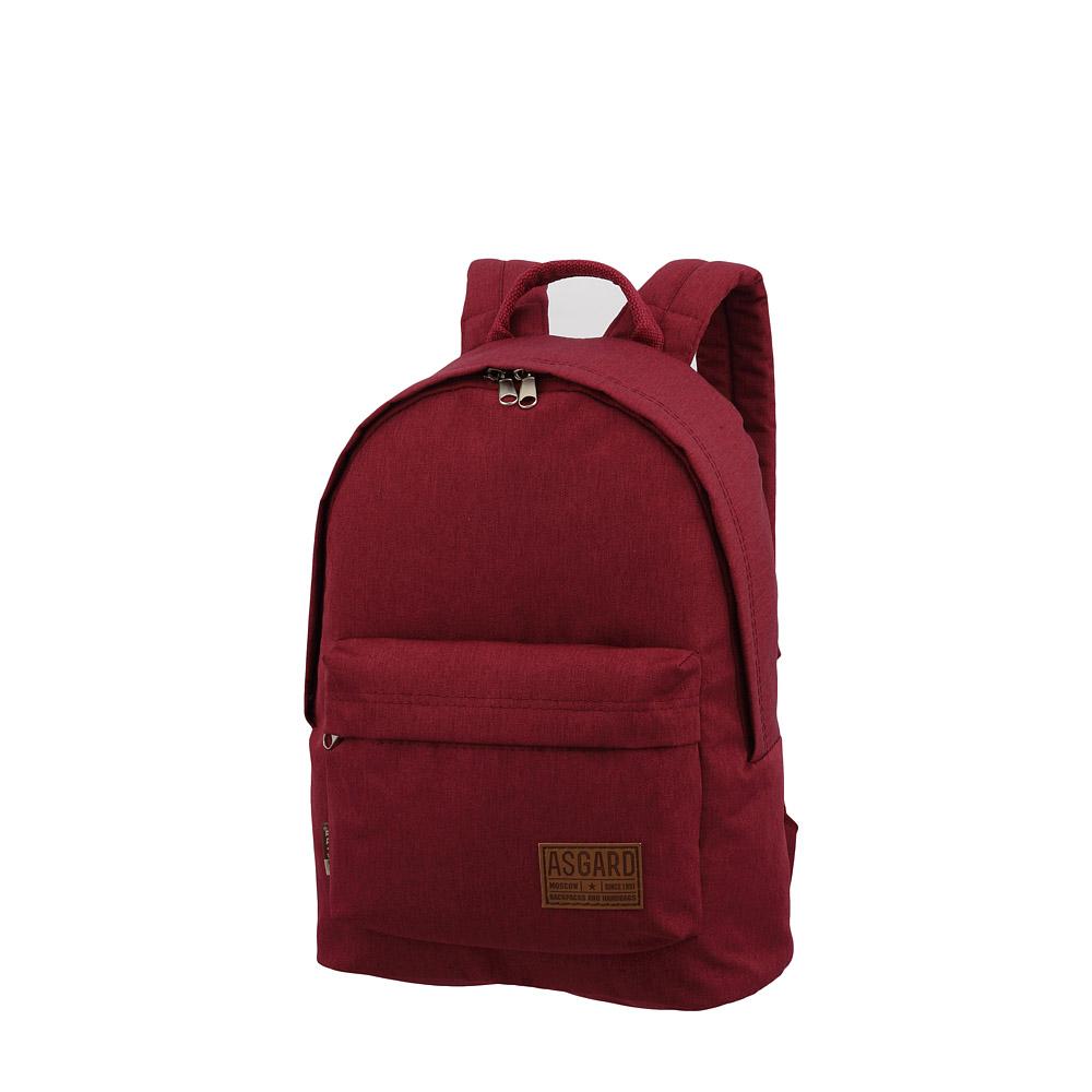 Рюкзак Asgard Р-5137П, бордовый рюкзак aquatic р 18