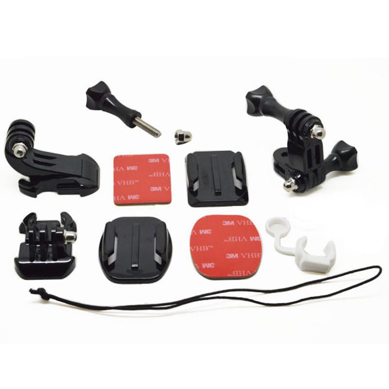 Крепление для камеры GoodChoice набор для GoPro , SJCAM, Xiaomi. Grab Bag of Mounts комплект креплений gopro grab bag agbag 002
