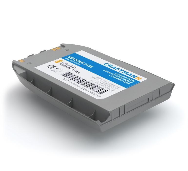 Аккумулятор для телефона Craftmann UBP-D-100 для Ubiquam U100