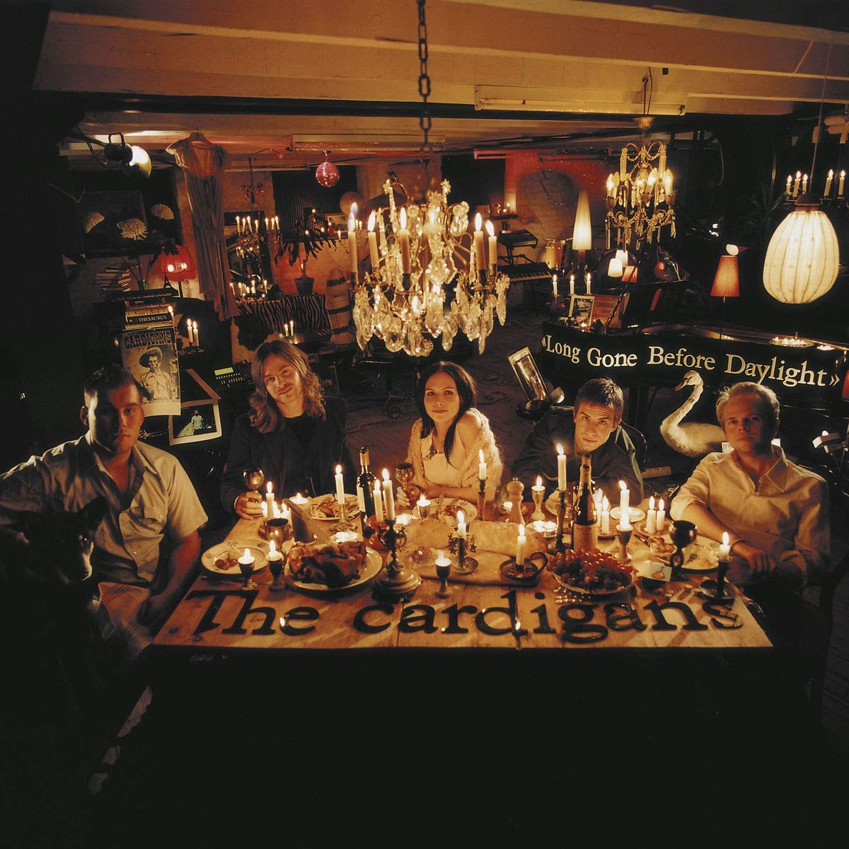 The Cardigans The Cardigans. Long Gone Before Daylight (2 LP) white open front floral print cardigans